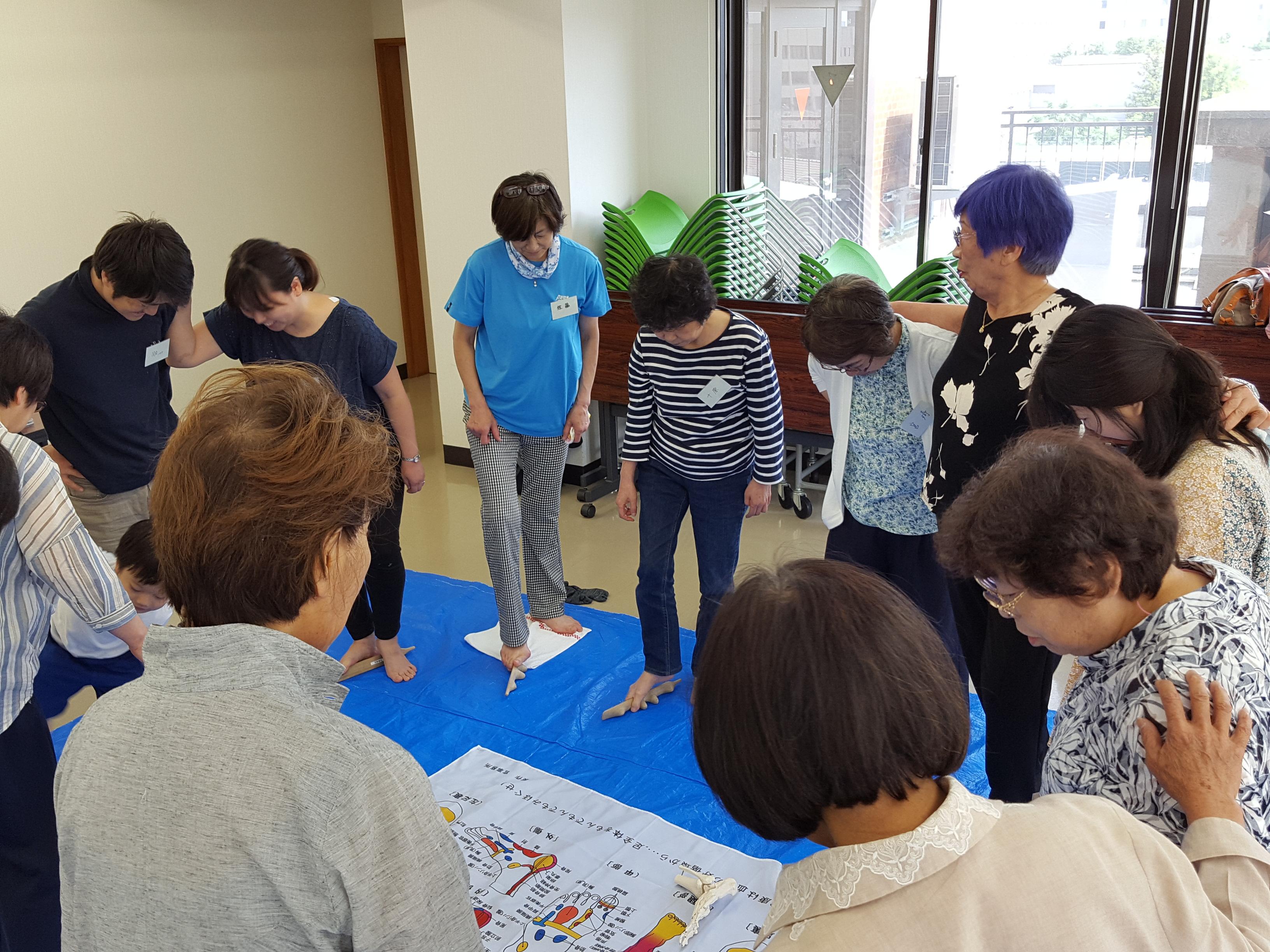 官足法八戸講習会を開催しました