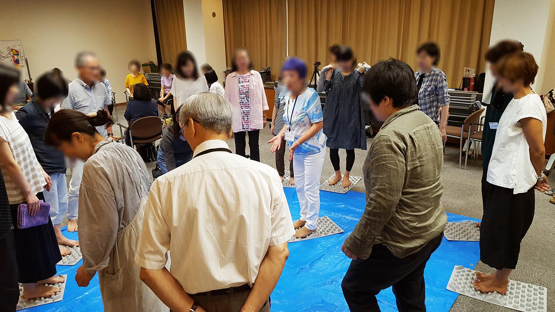 官足法福岡講習会を開催しました。
